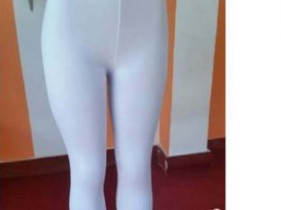 Collants Blanc